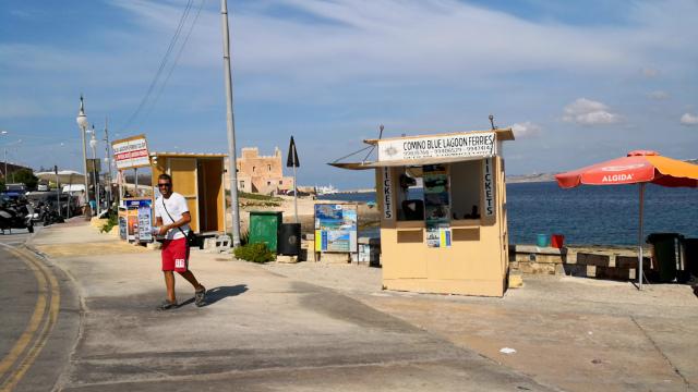 マルタのコミノ島への行き方