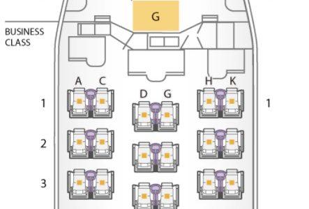 【ANAビジネスクラス搭乗記】羽田-ソウル金浦 NH865便の機種機材・座席・機内食など