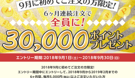 【dデリバリー】備忘録!30,000円分タダで食べられるキャンペーンを完全解説!
