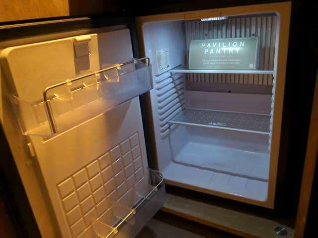 ヒルトンガーデンインバリの冷蔵庫