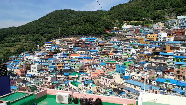 韓国のマチュピチュ 釜山 甘川文化村