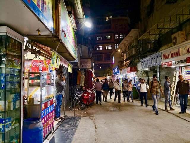 チャトラパティ・シヴァージー・ターミナス駅付近猥雑な街並み
