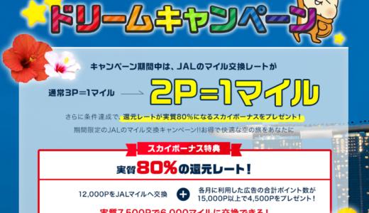 【2018年6月から】JALマイルが爆発的に貯まる唯一のポイントサイトとは?