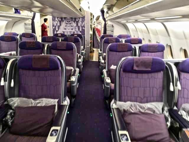 タイ航空 A330-300 ビジネスクラス