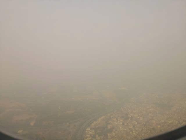 デリーの大気汚染(PM2.5)