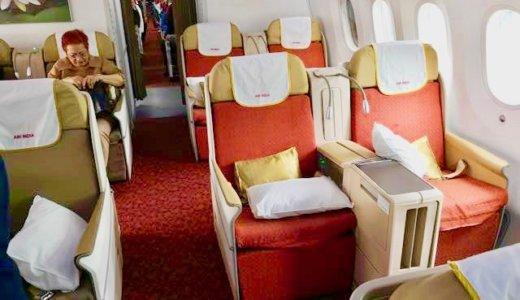 【エアインディアの評判は?】B787ビジネスクラス搭乗記 シート・ラウンジなど徹底レポート(成田-デリーや関西-香港-ムンバイ等と同じ機材)