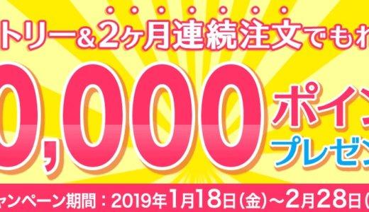 【dデリバリー】2019/1/18から2ヶ月連続注文で10,000円もらえるキャンペーンを完全解説!