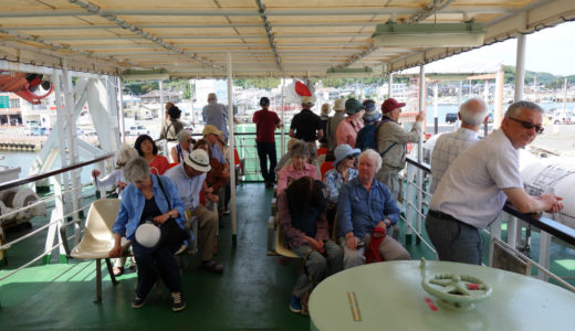【宗像大島観光】宗像大社からフェリーで足を延ばすべき!2つの世界遺産を擁する大島の魅力とは。