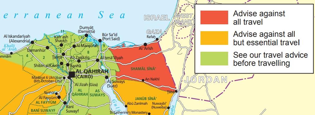 エジプトの治安情報
