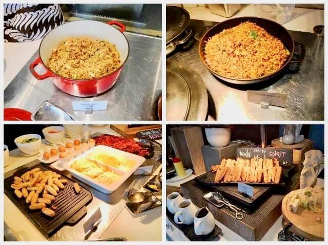 ヒルトンガーデンインバリの朝食ビュッフェ