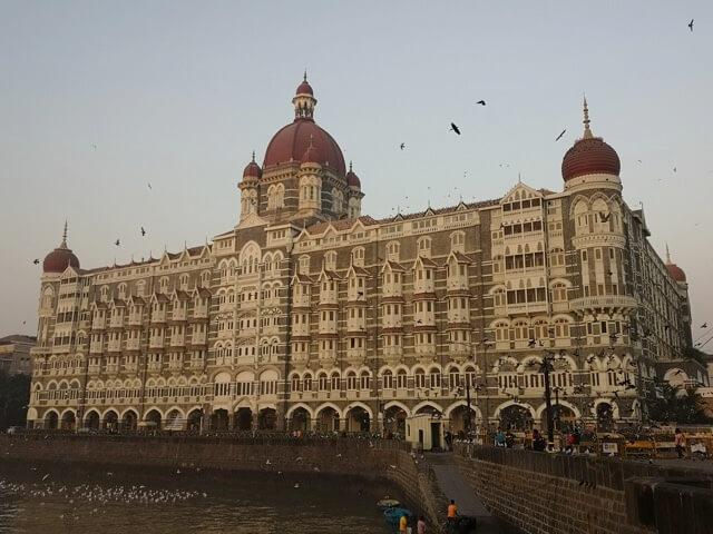 ムンバイのタージマハルホテル外観