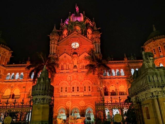 チャトラパティ・シヴァージー・ターミナス駅@ムンバイ