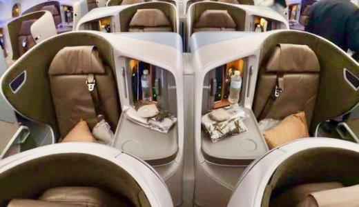 【シンガポール航空ビジネスクラス搭乗記B787-10】感動レポート!評判のシートを3回体験